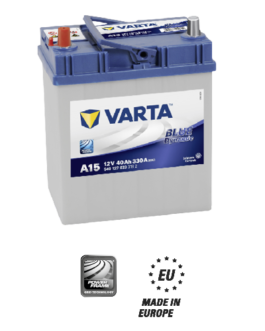 Akumulator 40Ah 330A L+ Varta Blue A14 Japan
