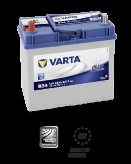 Akumulator 45Ah 330A L+ Varta Blue B34 Japan