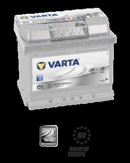 Akumulator 52Ah 520A P+ Varta Silver C6