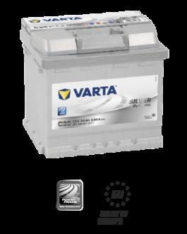 Akumulator 54Ah 530A P+ Varta Silver C30