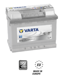 Akumulator 63Ah 610A P+ Varta Silver D15