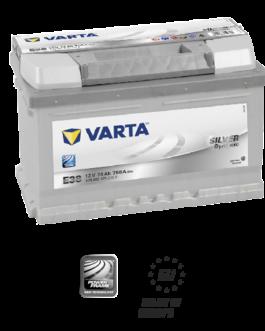Akumulator 74Ah 750A P+ Varta Silver E38