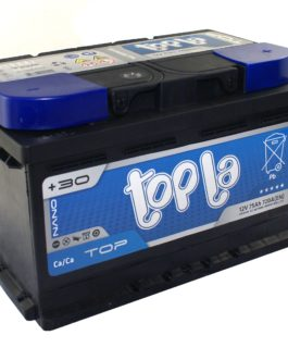 TOPLA TOP 75Ah 720A PRAWY+