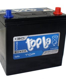 Akumulator Topla Top Japan 60Ah 500A P+