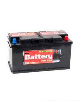 Akumulator Battery Polska Black 100Ah 850A