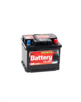 Akumulator Battery Polska Black 45Ah 420A