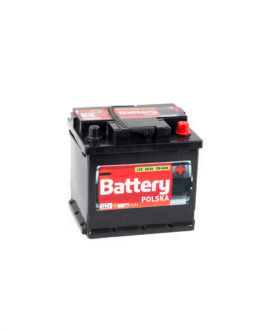 Akumulator Battery Polska Black 50Ah 450A