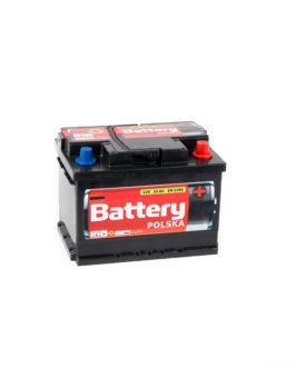 Akumulator Battery Polska Black 55Ah 510A