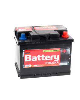Akumulator Battery Polska Black 60Ah 540A