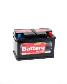 Akumulator Battery Polska Black 74Ah 680A