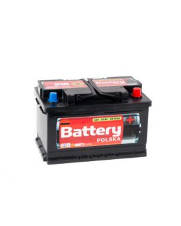 Akumulator Battery Polska Black 75Ah 720A