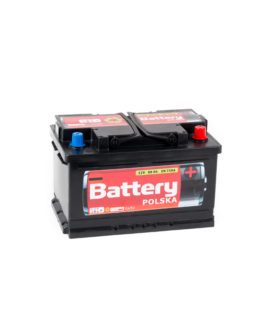Akumulator Battery Polska Black 80Ah 750A