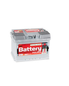 Akumulator Battery Polska Silver 55Ah 550A