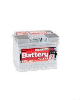 Akumulator Battery Polska Silver 62Ah 570A