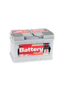 Akumulator Battery Polska Silver 75Ah 750A