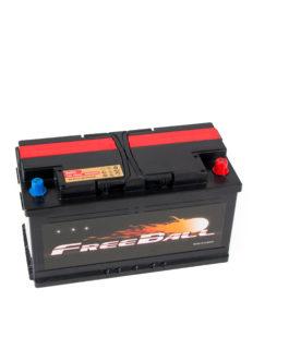 Akumulator Freeball Black 100Ah 850A Prawy+
