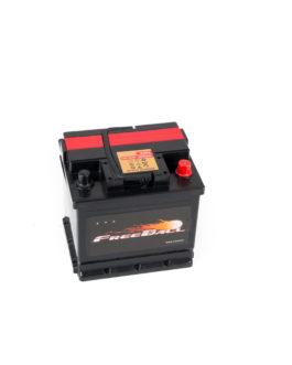 Akumulator Freeball Black 50Ah 480A Prawy+