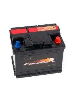 Akumulator Freeball Black 60Ah 560A Prawy+