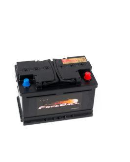 Akumulator Freeball Black 75Ah 750A Prawy+