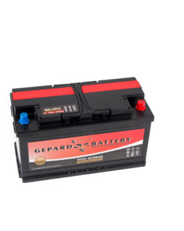 Akumulator Gepard Black 100Ah 850A