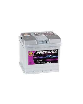 Akumulator Freeball Silver 52Ah 490A Prawy+