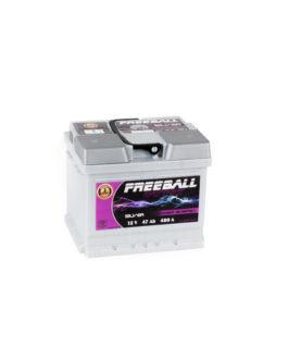 Akumulator Freeball Silver 47Ah 480A Prawy+