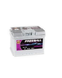 Akumulator Freeball Silver 55Ah 530A Prawy+