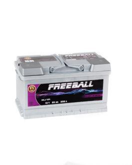 Akumulator Freeball Silver 85Ah 850A Prawy+