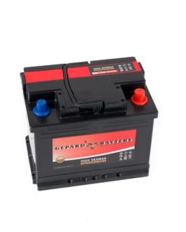 Akumulator Gepard Black 61Ah 580A