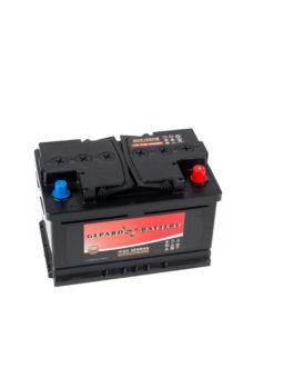 Akumulator Gepard Black 74Ah 680A